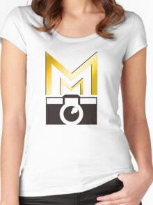 Mark Maker Productions Shirt_01 Women's Fitted Scoop T-Shirt