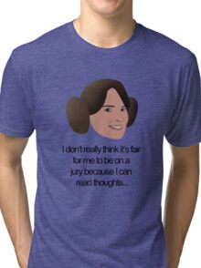 Liz Lemon Princess Leia Tri-blend T-Shirt