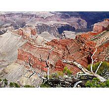 Sedimentary Red Photographic Print