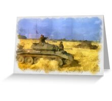 42nd Armoured Division - WWII Greeting Card