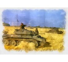42nd Armoured Division - WWII Photographic Print