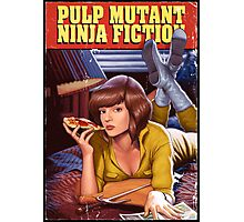Pulp Mutant Ninja Fiction Photographic Print