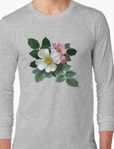 Eglantine - acrylic painting Long Sleeve T-Shirt
