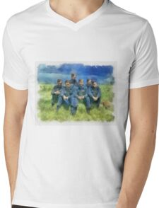 The Dambusters 917 Squadron WWII Mens V-Neck T-Shirt