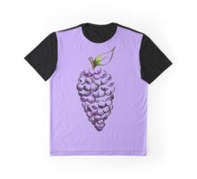 Purple Grapes Graphic T-Shirt