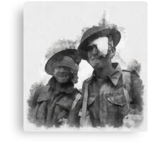 Wounded Heroes - WWII Canvas Print