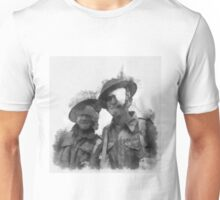 Wounded Heroes - WWII Unisex T-Shirt
