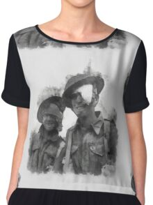 Wounded Heroes - WWII Chiffon Top