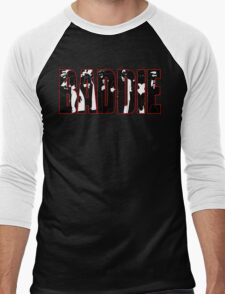 Batman Villians Baddie Men's Baseball ¾ T-Shirt