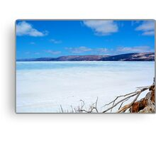 Whycocomagh Winter Canvas Print