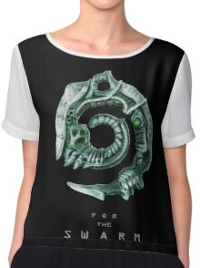 For the Swarm Chiffon Top