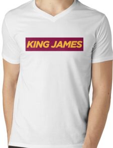 JAMES. Mens V-Neck T-Shirt
