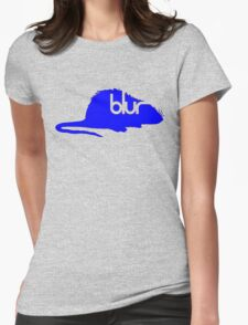 BLURRY Womens Fitted T-Shirt