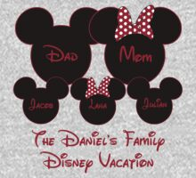 Mickey & Minnie Mouse Personalized Family ~YOU MUST MESSAGE ME BEFORE PURCHASING by sweetsisters