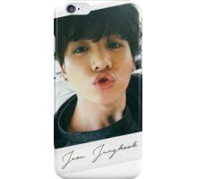 Jungkook Polaroid - BTS - Bangtan Boys iPhone Case/Skin