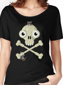 Skull & Rats Women's Relaxed Fit T-Shirt