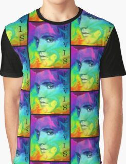 Elvis the king Of Rock & Roll Graphic T-Shirt