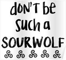 Sour Wolf Poster