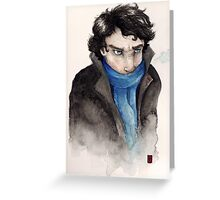 Cold Sherlock Greeting Card