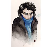Cold Sherlock Photographic Print