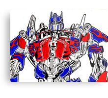 Optimus prime (Transformers movie) Metal Print