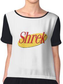 Shrekfeld  Chiffon Top