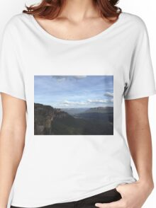 Blue Mountains - Seeing my 3 Sisters Women's Relaxed Fit T-Shirt