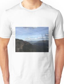 Blue Mountains - Seeing my 3 Sisters Unisex T-Shirt