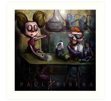 Dexters Meth Lab Art Print