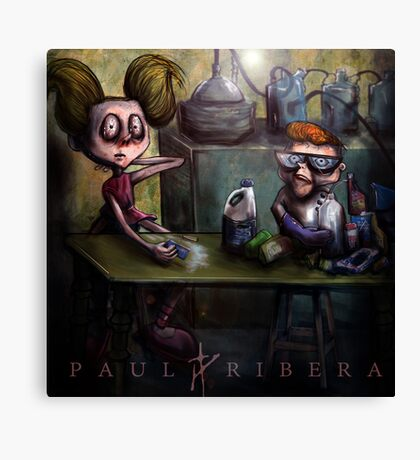 Dexters Meth Lab Canvas Print