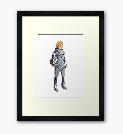 Sylel, the alien Framed Print