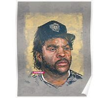 ICE CUBE DIGITAL PORTRAIT Poster