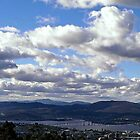 Hobart, from Tolmans Hill by Andrew Bonnitcha
