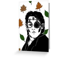 Ichabod Crane Greeting Card