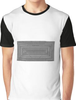 Psychedelic squares Graphic T-Shirt