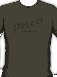 Breaststroke Swimming  T-Shirt
