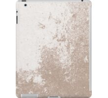 Earth Sweat Design (Warm Taupe Color) iPad Case/Skin