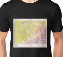 USGS TOPO Map Alaska AK Mount McKinley 361202 1969 250000 Unisex T-Shirt