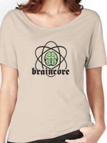 Braincore - Atomic Nucleus Brain Women's Relaxed Fit T-Shirt
