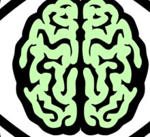 Braincore - Atomic Nucleus Brain Sticker
