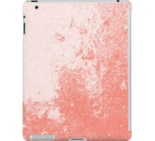 Earth Sweat Design (Peach Echo Color) iPad Case/Skin