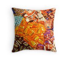 Candy Smash Throw Pillow