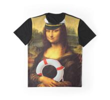 Mona Lisa Ahoy Graphic T-Shirt