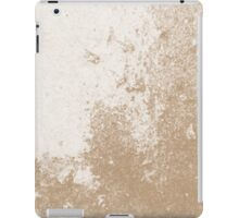 Earth Sweat Design (Iced Coffee Color) iPad Case/Skin
