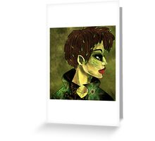 Faerie Fashionista Greeting Card