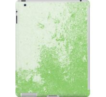Earth Sweat Design (Green Flash Color) iPad Case/Skin