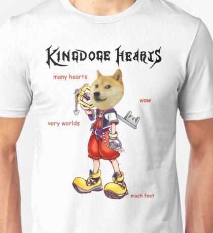 KingDOGE Hearts Unisex T-Shirt