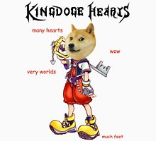 KingDOGE Hearts Unisex T-Shirt