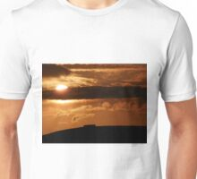 Grianian of Aileach Sunset ,Donegal, Ireland  Unisex T-Shirt