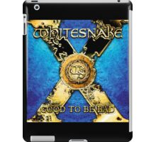 whitesnake good to be bad iPad Case/Skin